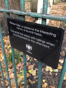 A sign like this makes me want to do the opposite