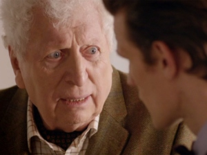 That awe-inspiring moment when Tom Baker returns (Image: BBC)