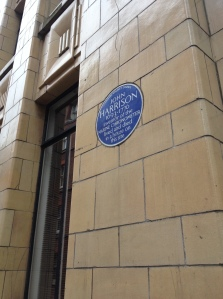 More than just a tiled monolith, it comes with a blue plaque as well