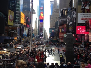 Despite road calming, Times Square is still completely bonkers