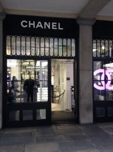 Chanel's popped by